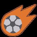Artboard Football Strike Football Icon