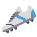 Artboard Football Studs Soccer Shoes Icon