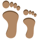 Footprints Foot Steps Icon