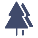 Forest Tree Pine Icon