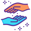 Support Lend Hands Icon