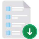 Form Download Icon