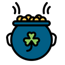 Fortune Gold Luck Icon