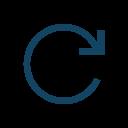 Forward Right Rotation Icon