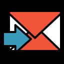 Forward mail Icon