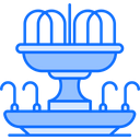 Fountain Park Water Icon