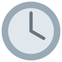 Four Oclock Watch Icon