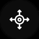 Four way Icon