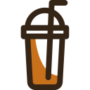 Frappe Coffee Beverage Icon