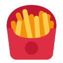 French Fries Fastfood Icon
