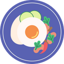 Fried Basil Basil Cuisine Icon