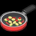 Fried Spice Pan Fried Stir Fried Icon