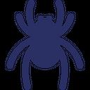 Frightening Halloween Spider Scary Icon