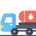 Fuel Truck Tanker Transportation Icon