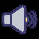 Full Volume High Volume Speaker Icon