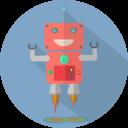 Fun Launch Robot Icon