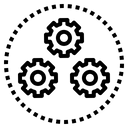 Function Process Operation Icon