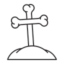 Funeral Death Grave Icon