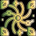 Galaxy Space Cosmos Icon