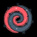 Galaxy Space Universe Icon