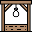 Gallows Death Punishment Icon