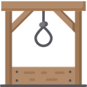 Gallows Death Punishment Icon