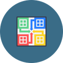 Game Board Play Icon