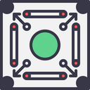 Game Carrom Play Icon
