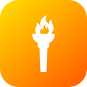 Game Fire Flame Icon