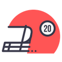 Game Racing Helmet Icon