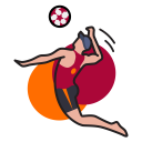 Game Sport Volleyball Icon