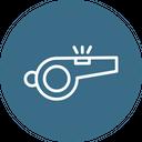 Game Sport Whistle Icon