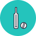 Game Sports Cricket Icon