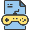 Game Gaming File Gaming Document Icon