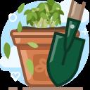 Garden Gardening Plant Icon