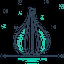 Garlic Clove Condiment Icon