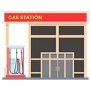 Gas Station Fuel Station Filling Station Icon