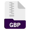 Gbp File Document Icon