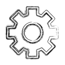 Gear Custom Settings Icon