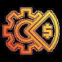 Gear Graph Icon
