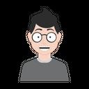 Geek Boy Icon