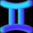 Gemini Twins Constellation Icon