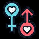 Gender Love Loving Icon
