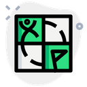Geocaching Technology Logo Social Media Logo Icon