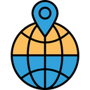 Geographic information Icon