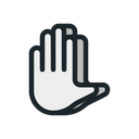 Gesture Hand Touch Icon