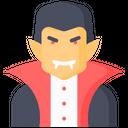 Ghost Dracula Vampire Icon