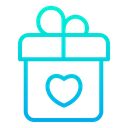 Surprize Gift Box Love Gift Icon