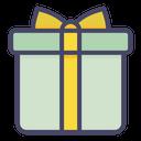 Present Christmas Box Icon
