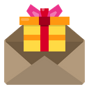 Gift Box Mail Celebration Icon